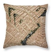 Adorned - Tile Throw Pillow