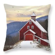 Adorned With Icicles Throw Pillow