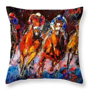 Adrenaline Throw Pillow