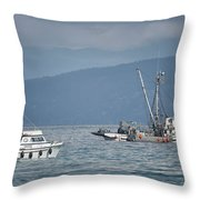 Adriatic Star And Ryan D Throw Pillow
