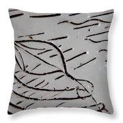 Adrift - Tile Throw Pillow