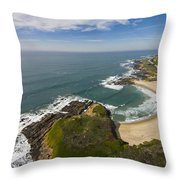 Advancing Swell Throw Pillow