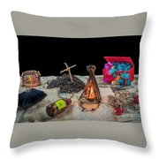 Adventure Novel Throw Pillow