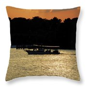 Adventure Travel Throw Pillow