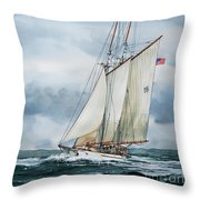 Adventuress Throw Pillow