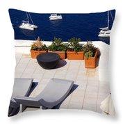 Aegean Wonderland Throw Pillow