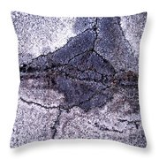 Aerial Asphalt 5 Throw Pillow