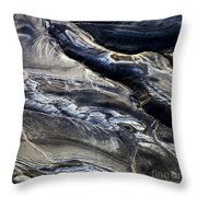 Aerial Photo Hekla Iceland Throw Pillow