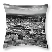 Aerial View Of London 6 Throw Pillow