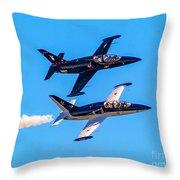 Aero L-39c Albatros Jet Trainers Throw Pillow
