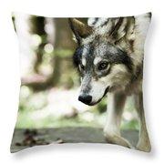 Aero Wolf 1 Throw Pillow