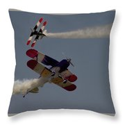 Aerobatics  V5 Throw Pillow
