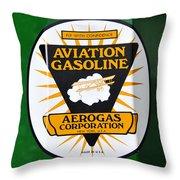 Aerogas Green Pump Throw Pillow