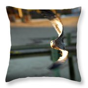 Aeronautical Acrobatics Throw Pillow
