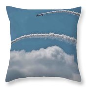 Aeroshell Aerobatics Throw Pillow