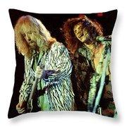 Aerosmith-94-brad-steven-1166 Throw Pillow