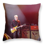 Aerosmith-brad Whitford-00154 Throw Pillow