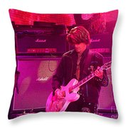 Aerosmith-joe Perry-00008 Throw Pillow