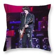 Aerosmith-joe Perry-00022 Throw Pillow