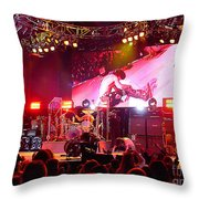 Aerosmith-joe Perry-00155 Throw Pillow