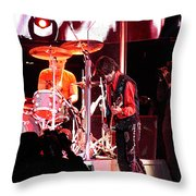 Aerosmith-joe Perry-00163 Throw Pillow