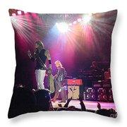 Aerosmith-steven Tyler-00082 Throw Pillow