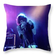 Aerosmith-steven Tyler-00114 Throw Pillow