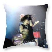 Aerosmith-steven Tyler-00188 Throw Pillow