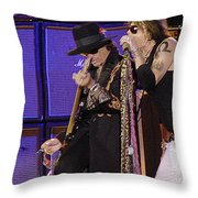 Aerosmith - Steven Tyler -dsc00015 Throw Pillow