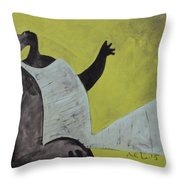 Aetas No. 18  Throw Pillow