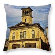 Aetna No 5 Throw Pillow