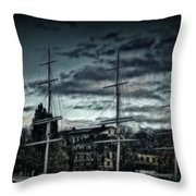 Af Champman At Afternoon Throw Pillow