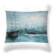 af Chapman Throw Pillow