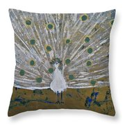 Affaire In The Tuilleries Throw Pillow