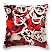 Affection Reflection Throw Pillow