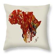 Africa 1b Throw Pillow