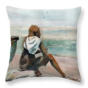 Africa Beyond The 6th Throw Pillow