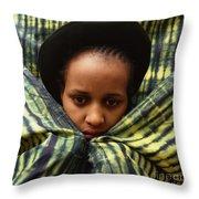Africa Diasporan Throw Pillow