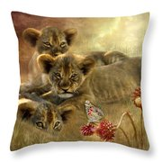 Africa - Innocence Throw Pillow