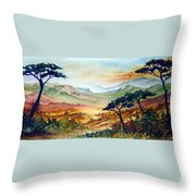Africa Throw Pillow