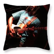 African Americana Live Throw Pillow