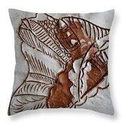 African Angel - Tile Throw Pillow