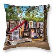 African Art For Sale Throw Pillow