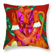 African Princess Throw Pillow