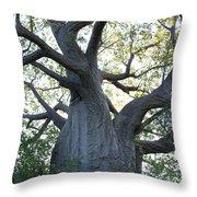 African Tree Throw Pillow