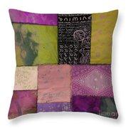 Afrikan Batik II Throw Pillow