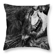 After Death Throw Pillow