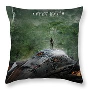 After Earth Movie 2013 Throw Pillow