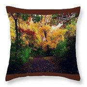 After Fall II Throw Pillow