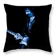 After Forever Blues Throw Pillow